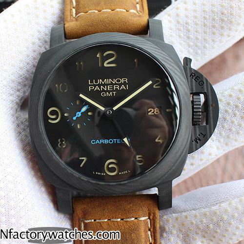 沛納海Panerai LUMINOR 1950 3 DAYS GMT  AUTOMATIC CERAMICA PAM00441/PAM441 紀念版