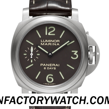 沛納海Panerai LUMINOR MARINA 8 DAYS TITANIO Pam00564/Pam564 钛殼