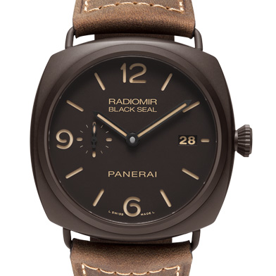 沛納海Panerai RADIOMIR COMPOSITE? BLACK SEAL 3 DAYS AUTOMATIC Pam00505/Pam505 藍寶石玻璃 DCL離子電鍍錶殼