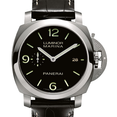 沛納海Panerai LUMINOR MARINA 1950 3 DAYS AUTOMATIC Pam00312/Pam312 v2  沛納海P9000 自動機械機芯水晶防刮無色防反光塗層 完美版
