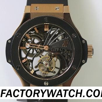 宇舶Hublot Big Bang 大爆炸 Tourbillon 陀飛輪 304.PX.1180.LR Limited Edition 限量版