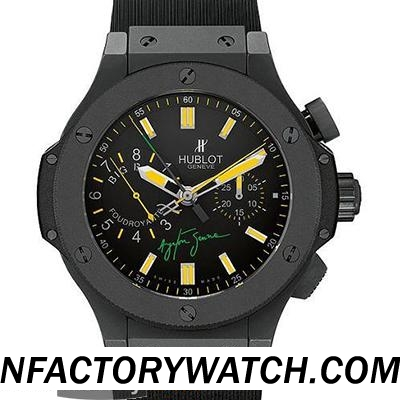 宇舶Hublot Big Bang 大爆炸 ayrton senna 埃爾頓塞納 Foudroyante 315.CI.1129.RX.AES09