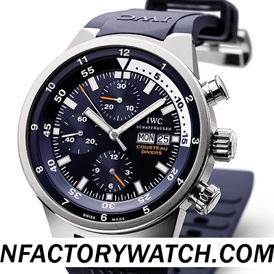 萬國IWC海洋時計AQUATIMER CHRONOGRAPH Cousteau Divers 庫斯托潛水員 IW378201
